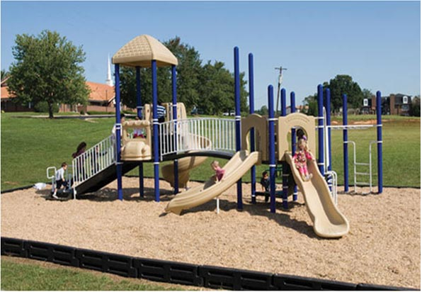 "Funplay STR-50701-B - 5"" O.D. Post Playgrounds"