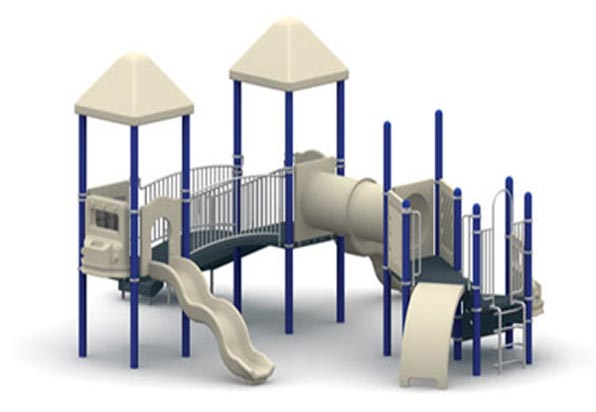 "Funplay STR-50801-B - 5"" O.D. Post Playgrounds"