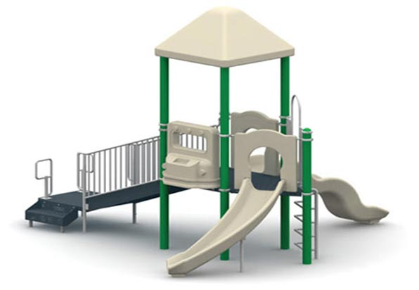 "Funplay STR-50902-G - 5"" O.D. Post Playgrounds"