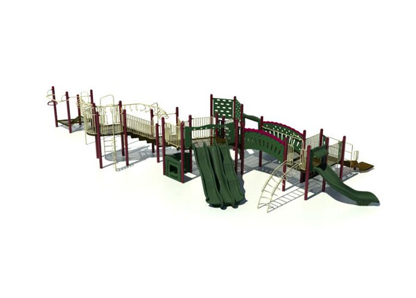 "Funplay BGQ-352 - 5"" O.D. Post Playgrounds"
