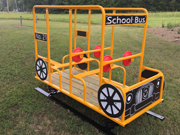 School Bus with Springs