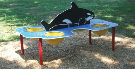 Whale Sand and Water Table - SWT-00001