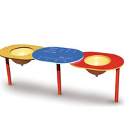 Double Bowl Sand and Water Table - SWT-00003