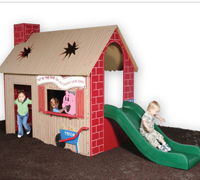 Tot Town™ Three Little Pigs House