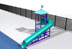 BG-5755-0 Water Slide