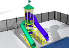 BG-5758-0 Water Slide
