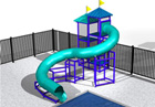 BG-5754-0 Water Slide