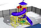 BG-5781-0 Water Slide