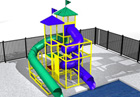 BG-5791-0 Water Slide