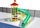BG-5817-0 Water Slide