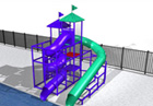 BG-5819-0 Water Slide