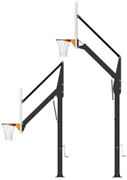 Post Pad for Adjustable Basketball Set