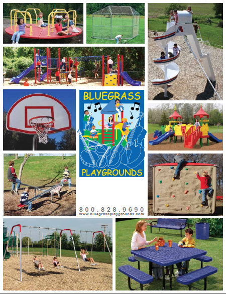 Bluegrass Playground 2015 Price List