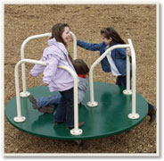 Playground Equipment-Merry Go Round