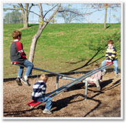 Playground Equipment-See Saws