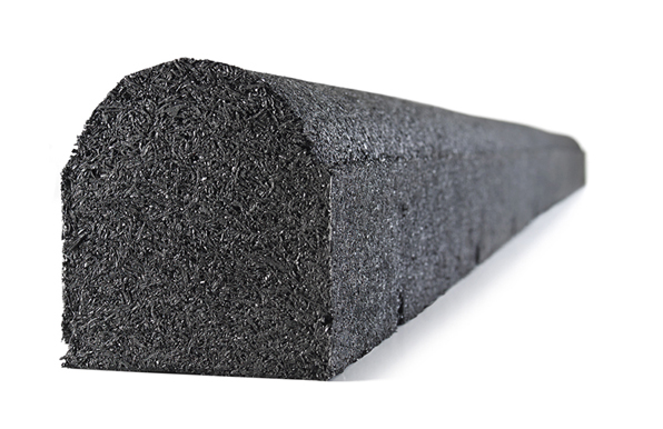 Loose Fill Recycled Rubber Nugget Or Rubber Mulch