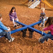 Four Seat Teeter Totter - SPR-00014