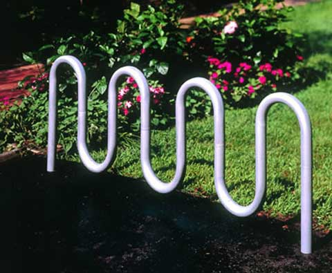 5800 Contemporary Double Sided Bike Rack