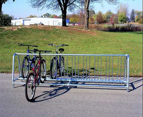 5900 Traditional Double Sided Bike Rack
