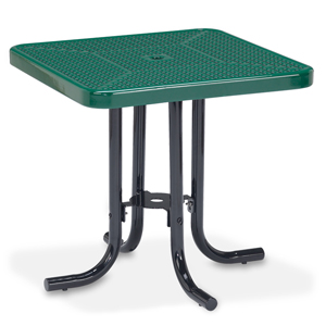 D1152 30 Inches Square Table Perforated Metal
