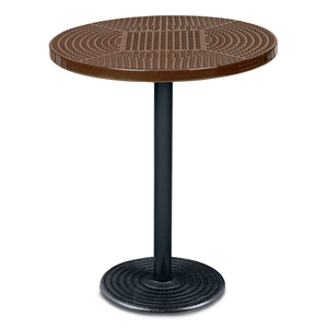 D1155 36 Inches Round Portable Perforated Metal