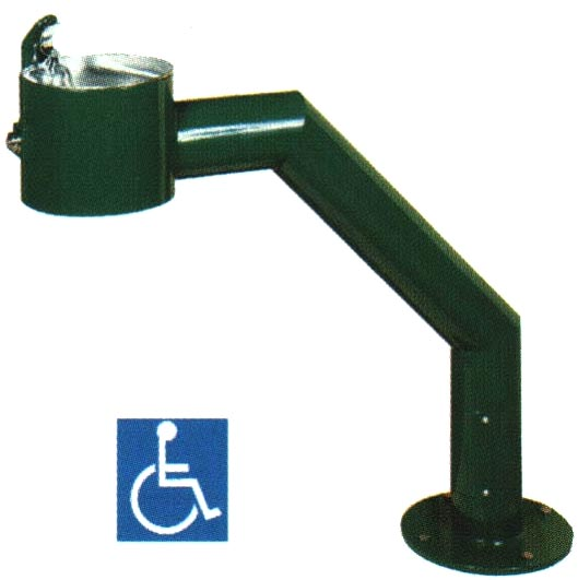 KP47SHF - Wheelchair Accessible Fountain