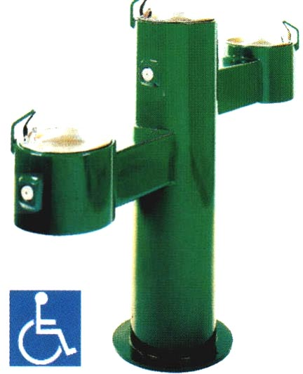 Drinking Fountain Playground Equipment For Commercial