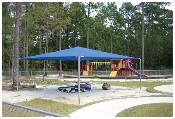 901-091 - Stand Alone Shade Structure - 12' x 20'
