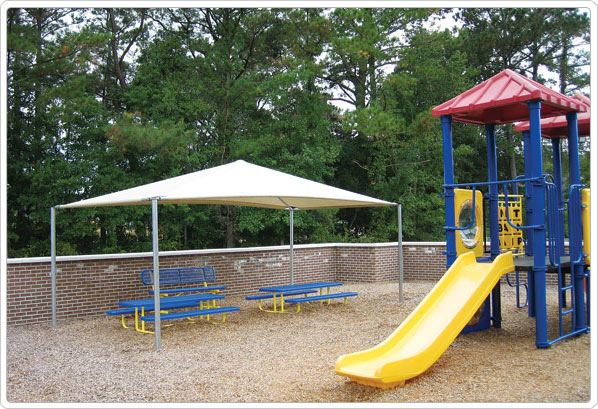 901-092 - Stand Alone Shade Structure - 18' x 20'