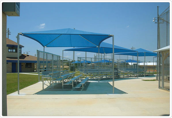 901-093 - Stand Alone Shade Structure - 20' x 24'