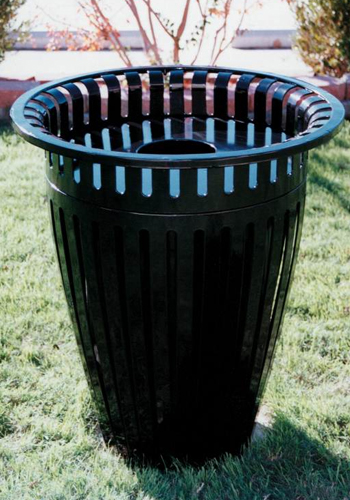Crown Style Trash Receptacles