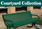 PVC or Plastisol Coated Steel - Courtyard Collection