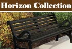 PVC or Plastisol Coated Steel - Horizon Collection