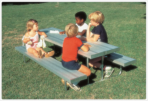 352-176 Early Years Picnic/Work Table Aluminum