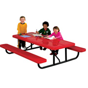 D2006 - Rectangular Children's Portable Picnic Table
