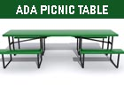 Thermoplastic - ADA Picnic Tables