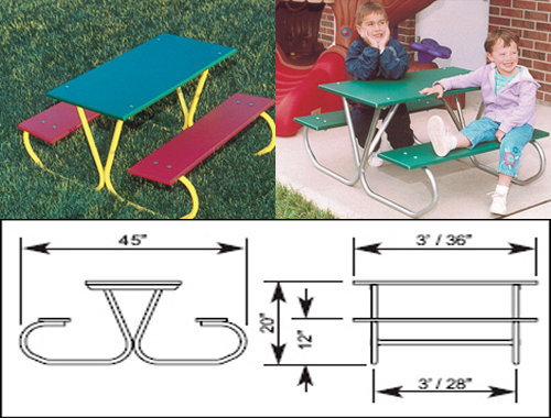 602-703-Early-Years-Rectangular-Picnic-Table