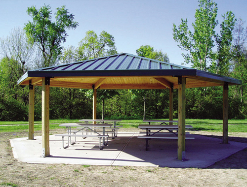 Shade structures shelters and gazebos shelter structures for Home shade structures