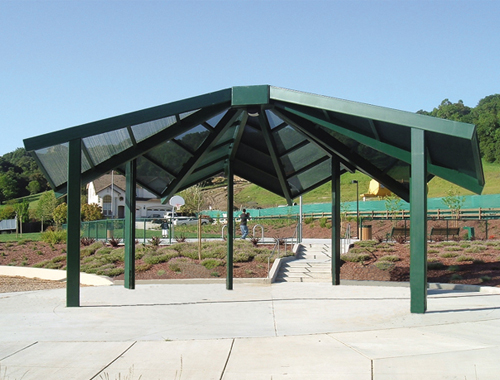 Shade Structures Shelters And Gazebos Shelter Structures