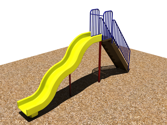 6' Bump Wave Slide - 902-902-292