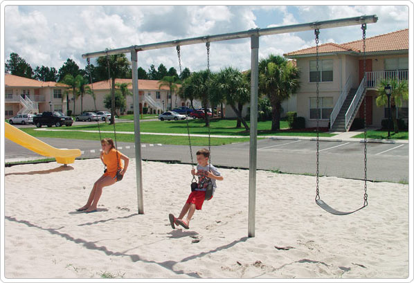 Heavy Duty Playground : Heavy duty quot t swing playground equipment for commercial