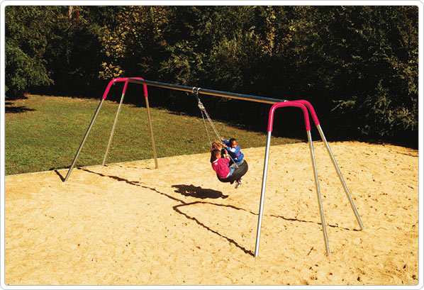 Tire Swing Birds Nest Swing Playground Equipment For Commercial